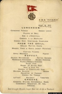 TITANIC-lunch