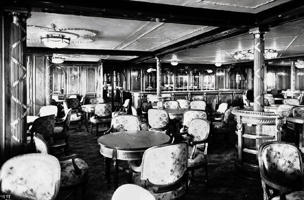titanic s most exclusive restaurant peggy wirgau
