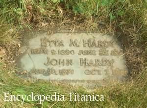 hardy tombstone