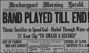 Titanic-news-headlines