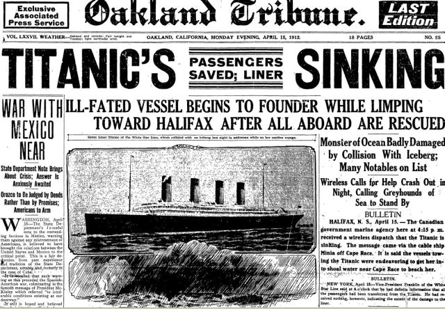 titanic-oakland-tribune-15-apr-1912